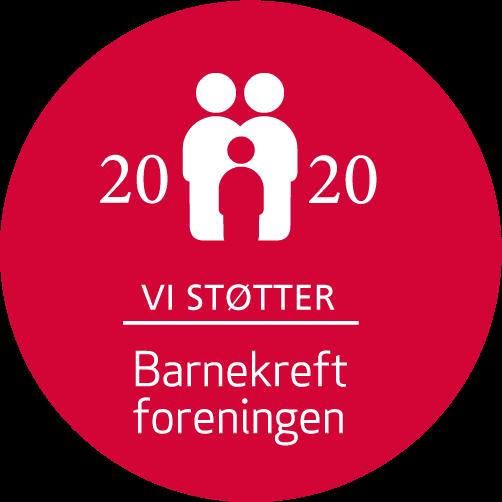 Barnekreft logo